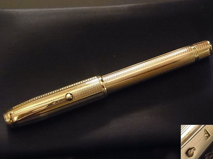 Solid Gold Parker Pen, Rare, Never Used